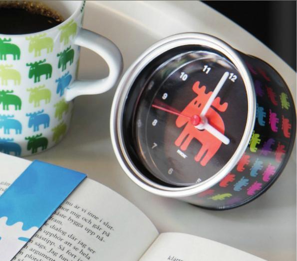Grátis frete suécia Moz relógios de de alarme, relógios de parede baratos, imã de geladeira Clocks(China (Mainland))