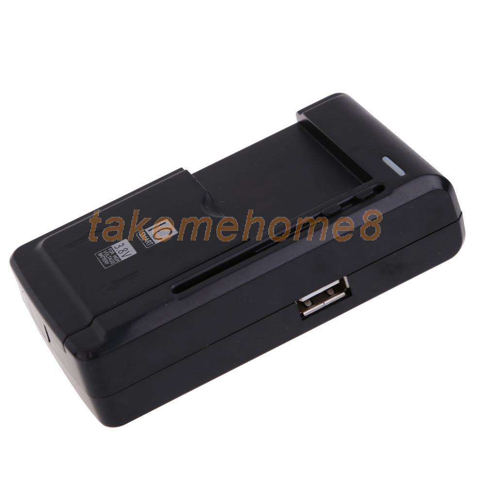 Universal USB Phone Battery Li-ion Home Wall Dock Travel Charger US Plug WORD(China (Mainland))
