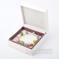 925 Womwen's silver bracelets, charm beads bracelet jewelry, snake chain Bracelets & Bangles, Free shipping