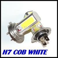 2X High Power Lamp H7 White COB LED Fog DRL Car LED SMD Day Driving Head Bulb Day Light Auto Lamp cob 20w  led