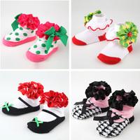 Free shipping baby girls socks lovely infant socks 19 styles for choice hotsale