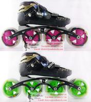 Powerslide VE inline skating shoes Professional adult child roller skates with Matter skating wheels Challenger skate frame