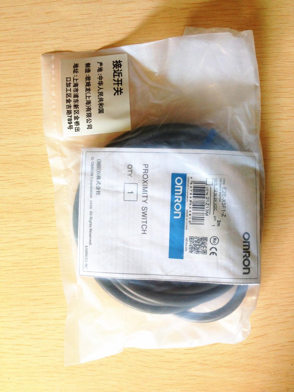 100% New original OMRON Proximity sensor E2E-X5F1, Free DHL !(China (Mainland))