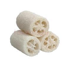 3x Natural Loofah Luffa Loofa Bath Body Shower Sponge Scrubber Small Size KK#Y(China (Mainland))