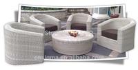 2014 Hot Sale Newcastle Outdoor Garden Rattan Dinning Table Set