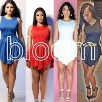 Top! !Women Sexy Summer Dress Women's Party Dresses Sexy Openwork Dot 2 Item Set Long Evening Bodycon Dress