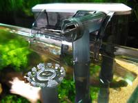 XP-09 waterfall aquarium filter tank external wall-mountable oil film processing aquarium air pump aquarium accessories