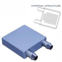 Aluminium Water Cooling Heatsink Block Waterblock Liquid Cooler New For CPU GPU