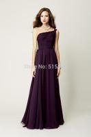 2014 New Arrival Free-Shipping  Sleeveless Cute Bridesmaid Dresses Sexy long bridesmaid dress