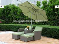 2014 Hot Sale Outdoor Rattan Recliner Garden Sofa Set