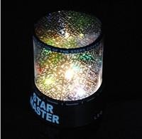 New Dreamlike Colorful Star Master Night Light Novelty Amazing LED Sky Star Master Light Projector Lamp Night Lamp No Battery