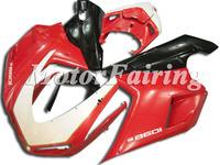 Popular Motobike Make For Ducati 1098 848 1198 2007-2011 Bodywork ABS Plastic Body Kits 1098 848 1198 Fairings Kits