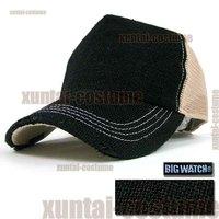 Super breathable mesh cap lyrate truck cap Large linen cap repair anti-uv hat