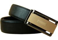 Genuine leather belts for men Business male Fashion Belt Automatic Buckle double faced cowhide belt MZ010 Cintos cinturon