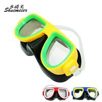 Child submersible mirror child swimming goggles mirror cover submersible meiqi swimwear
