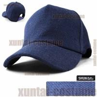 Ultralarge 58-64cm hemp breathable anti-uv large brim truck cap