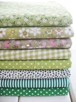 FB020 Free shipping Green Series patchwork fabric pack quilt fabric bundles Applique 20cm*30cm 8pcs/lot