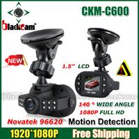 Free Shipping! HOT  Newest Mini Size HD 1920*1080P 12 IR LED Car Vehicle CAM Video Dash Camera C600 Recorder Russian Car DVR