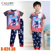 Girls The Frozen Princess Pajamas Sets Kids Autumn -Summer Clothing Set New 2014 Wholesale Children Cartoon Pyjamas X-315