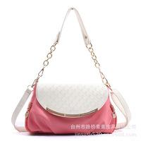 Women Handbags Limited Real Zipper Soft 2015 Women Handbag Satchel Cross Body Bag Purse Bags Pu Leather Handbags Messenger Chain