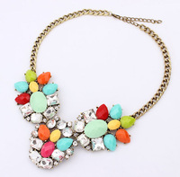 necklaces & pendants fashion brand Unique Europe costume chunky choker Necklace statement jewelry women