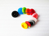 New Colorful Silicone Thumbstick Joystick Cover Grips Cap Skin For Xbox 360 Mushroom Cap Head, 10pcs/lot, Free shipping!