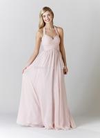 2014 New Arrival Free-Shipping Sweetheart Sleeveless Long Bridesmaid Dress