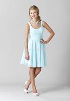 2014 New Arrival Free-Shipping Sweetheart Sleeveless Royal Blue Bridesmaid Dress