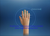 """62"""" Infrared MultiTouch frame overlays with 10 touch points"""