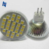 5 PCS/Lot Free Shipping New 5W 220V MR16 Warm White Energy-Saving 27SMD 5050 LED Spot Light Lamp Bulb