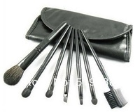 Lowest Price 7pcs Professional Cosmetic Makeup Brush Set Kit Makeup Brush Toos Free Shipping