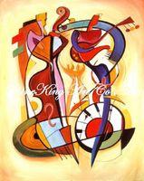 Handmade  Abstract  Oil Painting  Modern Art  Home Decor Canvas Paintings AB1121 40x50cm