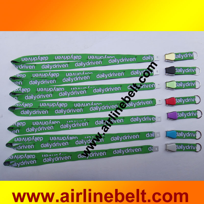 Airline Seat Belt Buckle Keychain Seat Belt Buckle