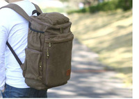 Fashion canvas backpack Outdoor travel bag mountaineering bag famous brand high quality small size
