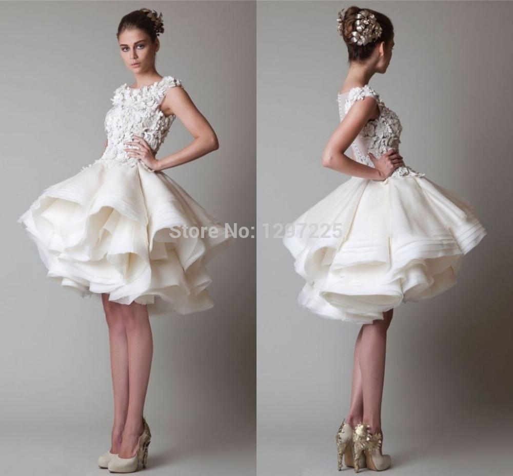 Пышное платье с воланами на юбке