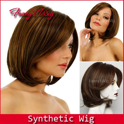 por atacado de ebay perucas para mulheres negras bob peruca cosplay peruca festa sintética curto penteado super barato peruca celebridade star005-2(China (Mainland))