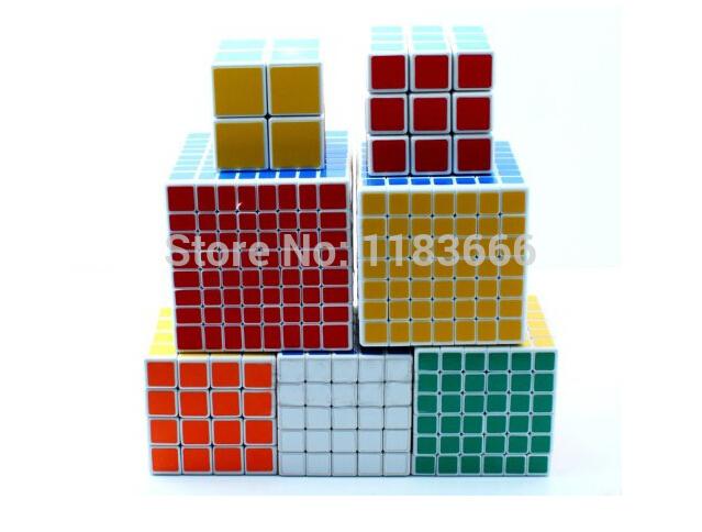 Shengshou magic cube 8 set of Stage 2 to 9 of Fashion Plaza(China (Mainland))