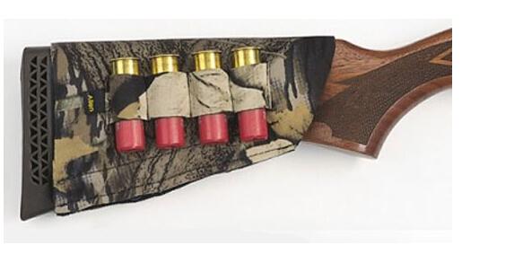 New Allen Shotgun Buttstock Holder Cover Holds 4 Shotshells Mossy Oak Camo Break-Up(China (Mainland))