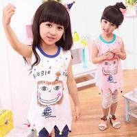 Free Shipping 2-7 Y Cute Baby Toddler Kids Girls Cartoon Princess Sundress Dress [TZ325-TZ334]