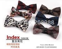 Wholesale Fashion Wedding Bow Tie plaid bow tie mens bowtie men's ties  free shipping 50pcs/lot  #1689A