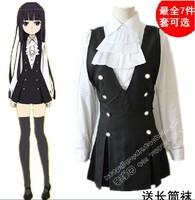 New Inu x Boku Secret Service Cosplay suit-dress Shirakiin Ririchiyo Anime Products Free Shipping