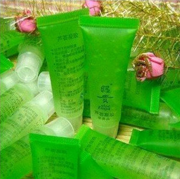 3pcs Skin Protect Face Cleansing Moisturizing Aloe Vera Gel(China (Mainland))