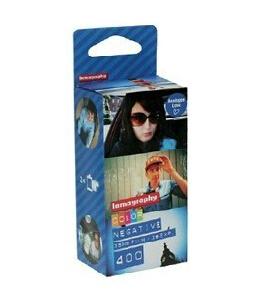 Free Shipping 3 Roalls/Lot ISO 400 Color Negative Lomo Camera Film LomofilmPack Finecolor 400ASA/36 135mm Wholesale(China (Mainland))
