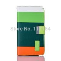 *2014 new arrival* Fashion Luxury PU Leather Wallet Flip Case For Samsung Galaxy Note 3 III N900 / N9000/ N9005