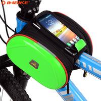 2014 Top Fashion Limited Nylon L Bicycle Basket Case Moto G Inbike Bicycle Accessories Mountain Bike Basket Cell Phone Pocket
