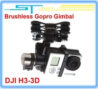 2014 New FPV DJI Zenmuse H3-3D Phantom HD Camera 3-Axis Brushless Gopro Gimbal support ilook gogro3 DJI Phantom 2 vision gift