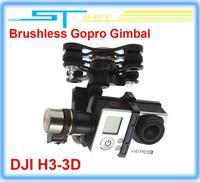 2014 New FPV DJI Zenmuse H3-3D Phantom HD Camera 3-Axis Brushless Gopro Gimbal support ilook gogro3 DJI Phantom 2 vision gift