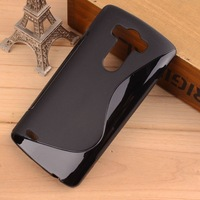 Ultra Thin Frosted Anti-Skid S Line Wave Curve Gel Case Cover Matte Water Case For LG Optimus G3 D830 D850 D851 1PCS/LOT