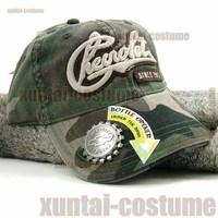 Antique baseball hat monochoria Camouflage vintage beer bottle opener baseball cap sports bcb