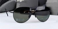 Fashion vintage fashion glasses polarized sunglasses male sunglasses anti-uv sun-shading mirror 8510